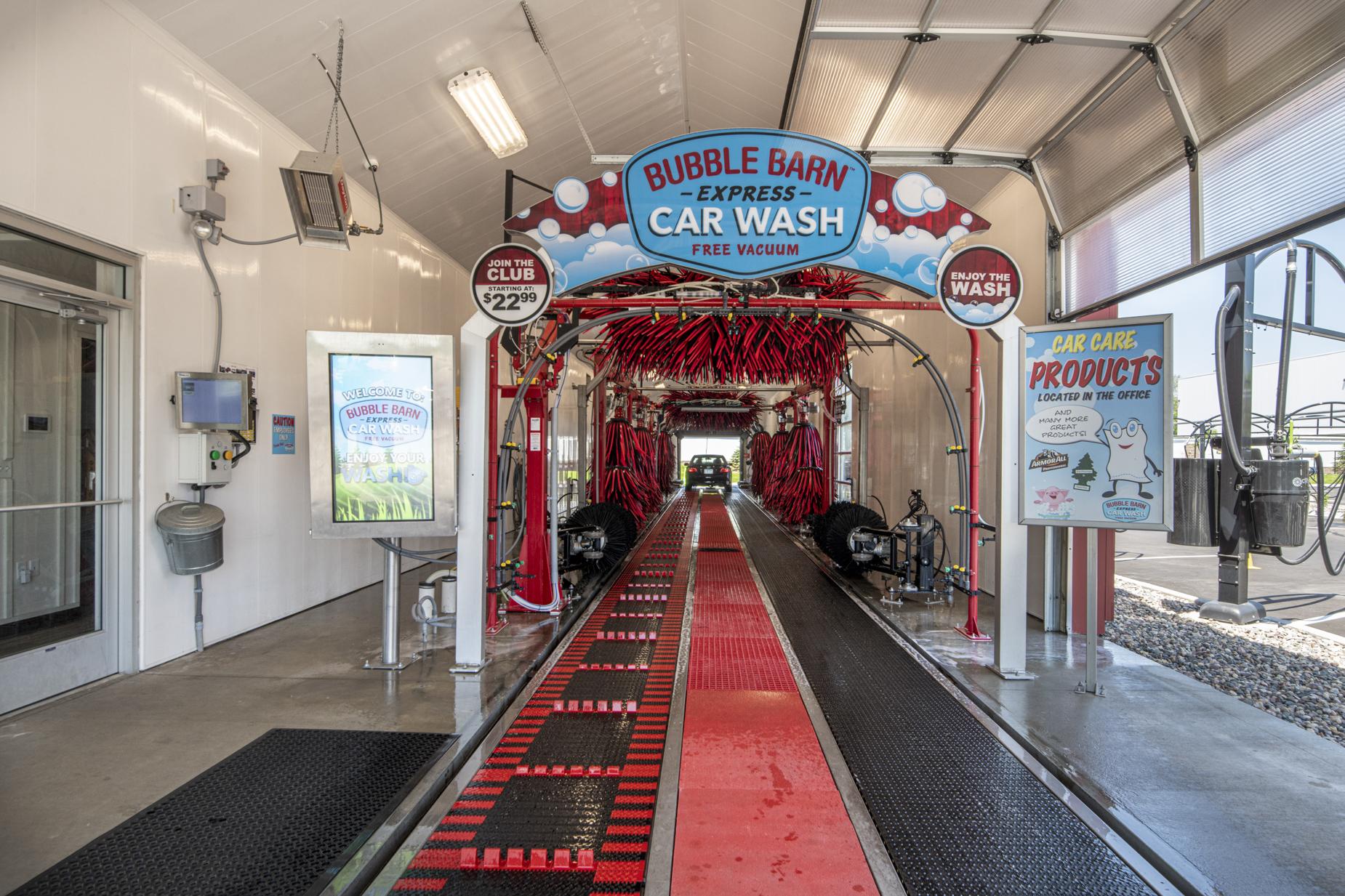 Bubble Barn Car Wash - Nor-Son Commercial Construction ...